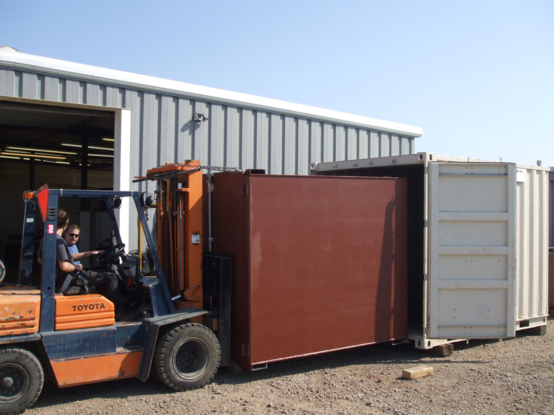 custom steel container manufacturing