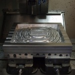 CNC machine used to fabricate custom parts